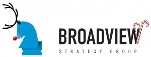Broadview Strategy Group -- Christmas Logo